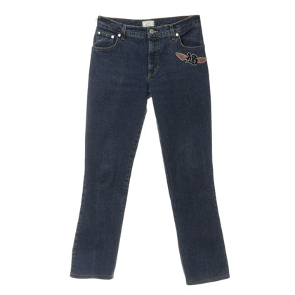 Blumarine Jeans with decorative patches