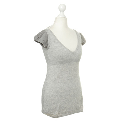Comptoir des Cotonniers Knitted shirt in grey