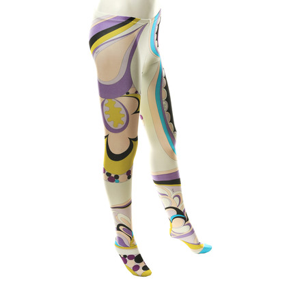 Emilio Pucci Stump pants with pattern