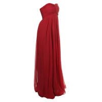 Marchesa Red dress