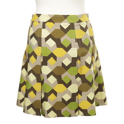 Marc by Marc Jacobs Silk Rok in gepensioneerde