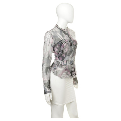 Armani Jeans Blouse with patterns-mix