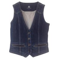 Bogner Denim vest with applications