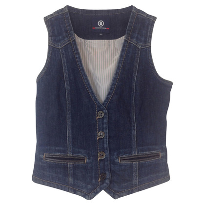 Bogner Denim vest with applications