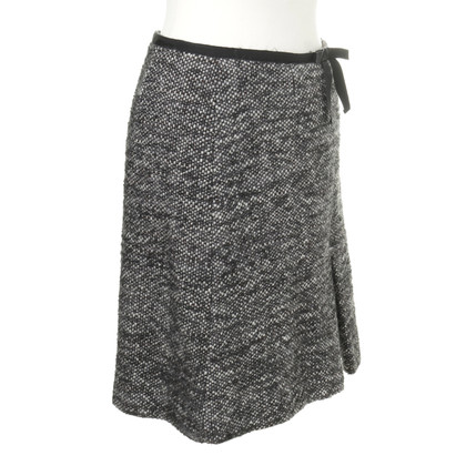 Red Valentino Wool A-line skirt