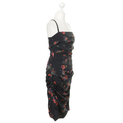 Dolce & Gabbana Silk dress with floral print