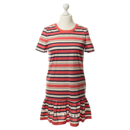 Marc by Marc Jacobs Dress with stripes and ruched usage