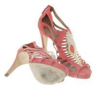 Hermès Sandals suede