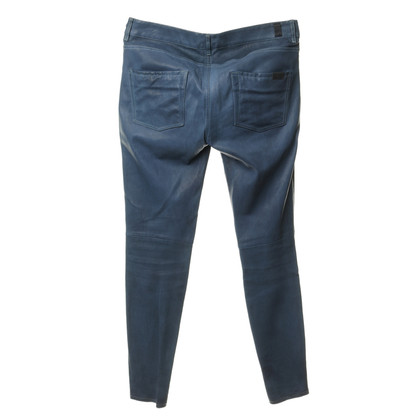 7 For All Mankind Pantaloni di pelle in blu