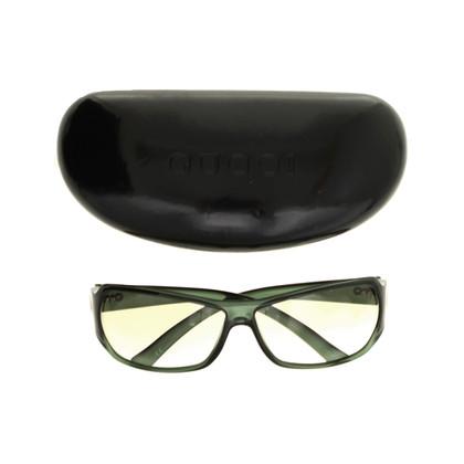 Gucci Dark green Sonnenbrillle