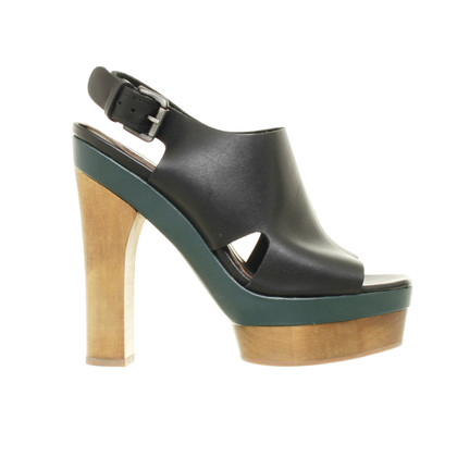 Marni for H&M Platform sandal with wood heel