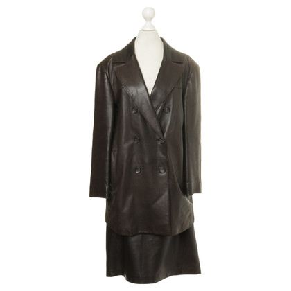 Jil Sander Costume made of leather
