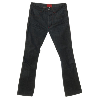 Valentino Jeans with contrast stitching