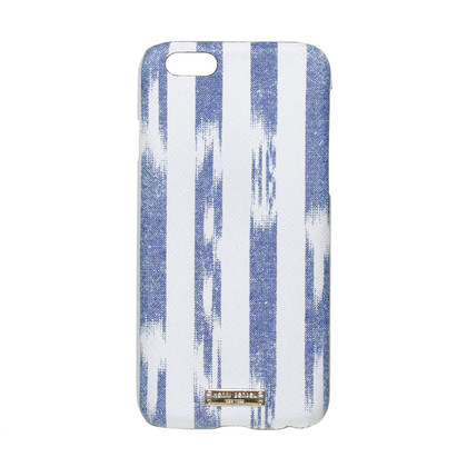 Other Designer Henri Bendel - mobile sleeve in blue and white