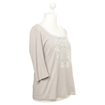 Marc Cain Shirt with Pearl trim