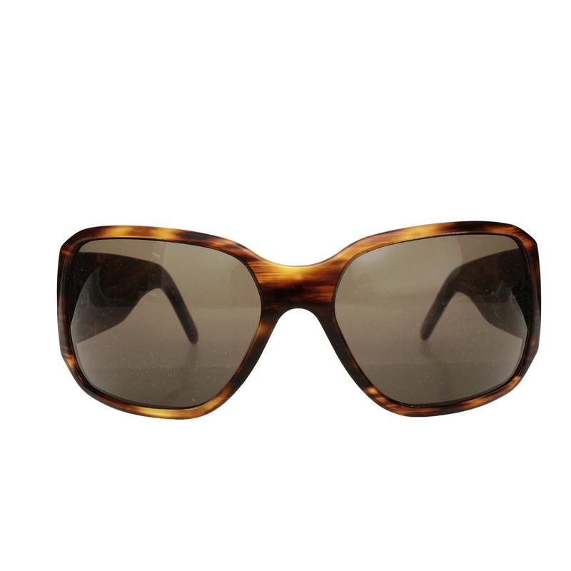 versace sonnenbrille in horn optik second hand versace. Black Bedroom Furniture Sets. Home Design Ideas