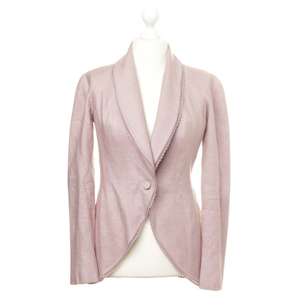 John Galliano Blazer in oude Rosé