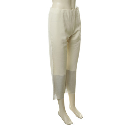 Narciso Rodriguez Trousers in white-silver