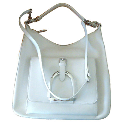 Ralph Lauren White leather bag