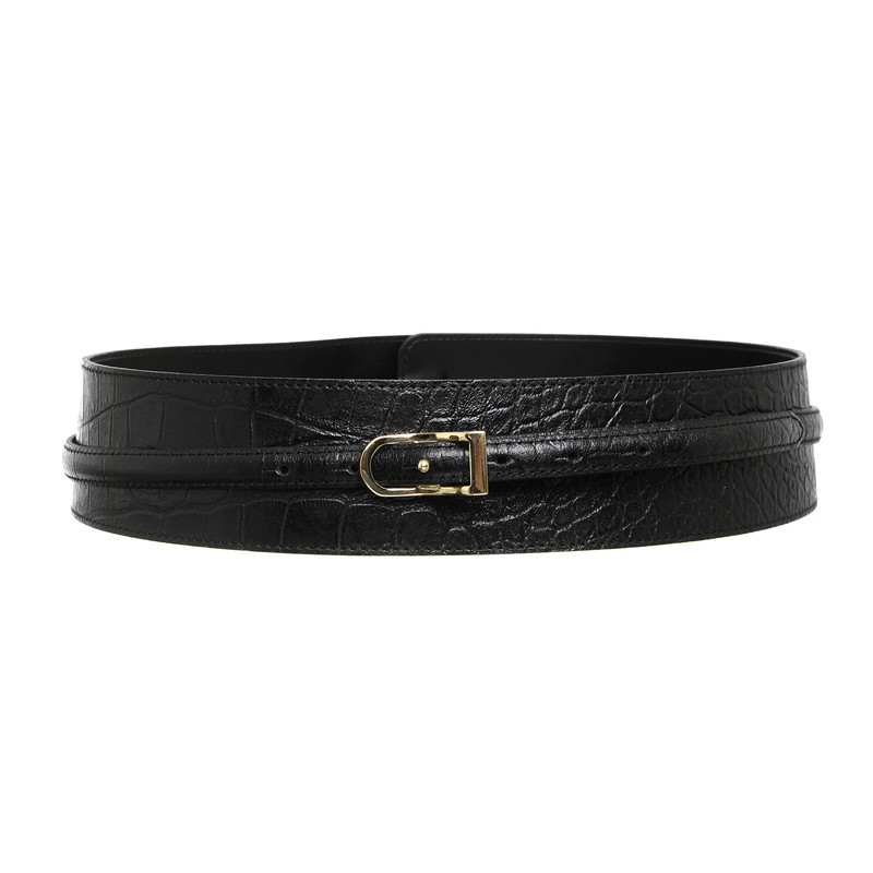 Jimmy Choo for H&M Belt in reptile finish