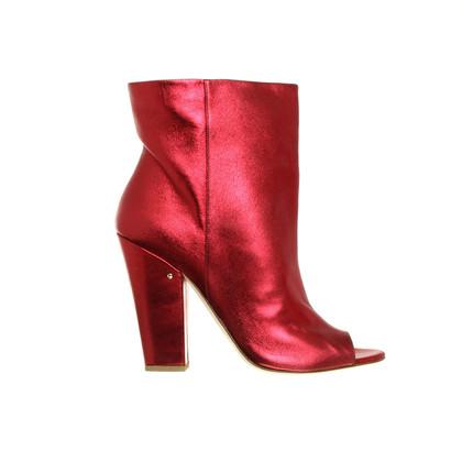 Andere Marke Laurence Dacade -Stiefeletten in Rot-Metallic