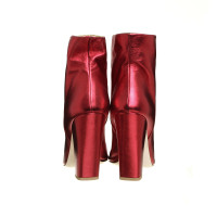Other Designer Laurence Dacade-Stiefeletten in metallic red