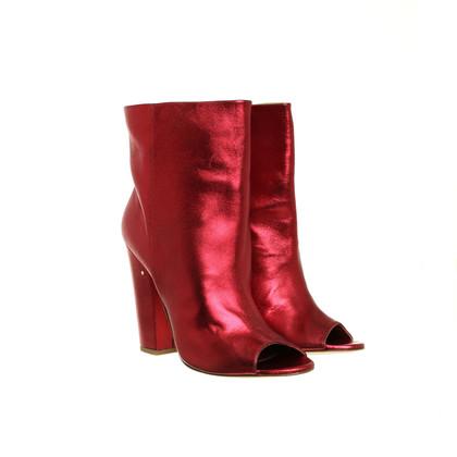 Other Designer Laurence Dacade-Stiefeletten in metallic red