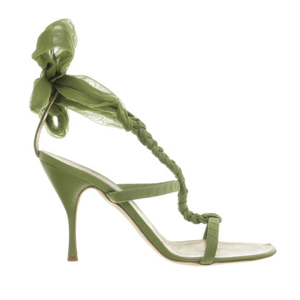 Alberta Ferretti High heel sandal in green