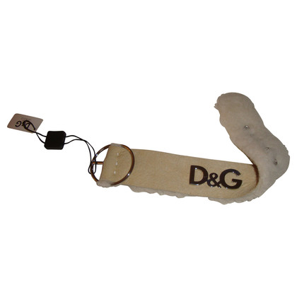 D&G Lamb leather strap