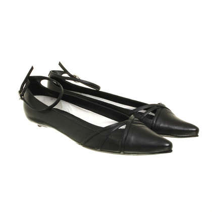 Costume National Ballerinas with ankle straps