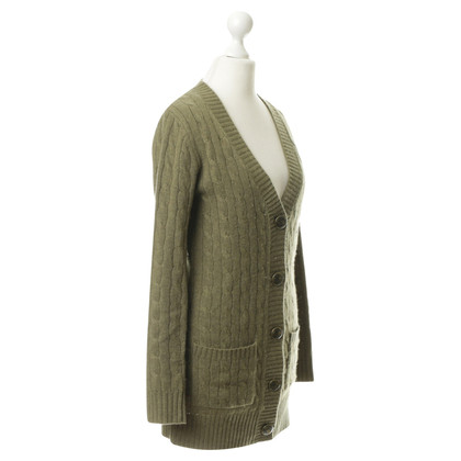 Juicy Couture Cardigan mit Zopf-Muster
