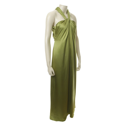 Hugo Boss Silk dress in green
