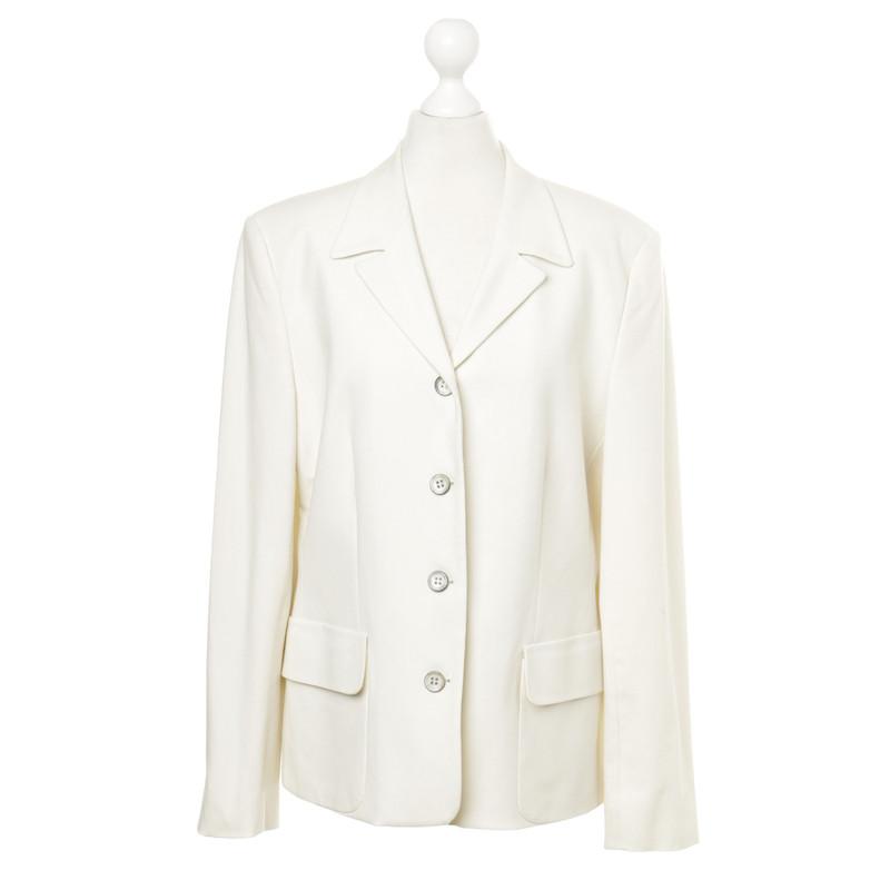 st emile blazer in off white second hand st emile. Black Bedroom Furniture Sets. Home Design Ideas