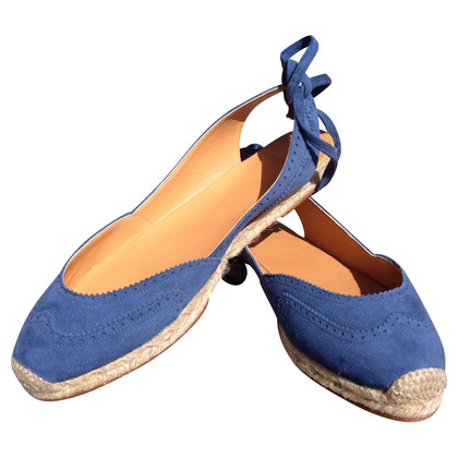 Hermès Blauwe Espandrilles