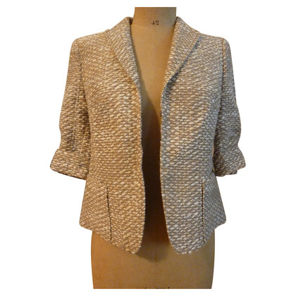 Akris Sand-colored short Blazer