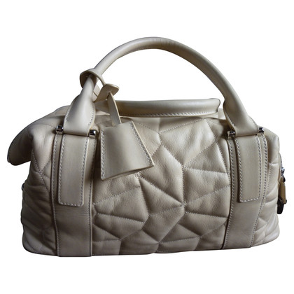 Akris Borsa in pelle color crema