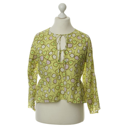 Marni Blouse with a floral pattern
