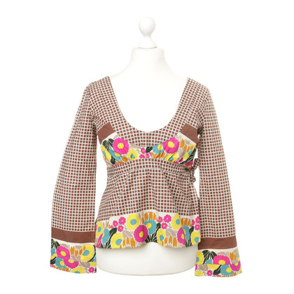 Marni T-shirt with floral print