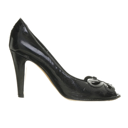 Moschino pumps with butterfly detail