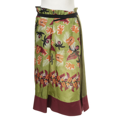 Philosophy di Alberta Ferretti Silk wrap skirt