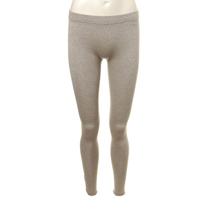 B Private Leggings with glittery threads