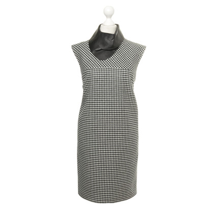 Bally Dress with Houndstooth pattern