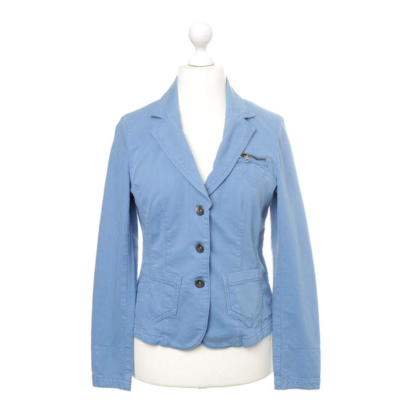 marc cain blazer with jeans look buy second hand marc. Black Bedroom Furniture Sets. Home Design Ideas