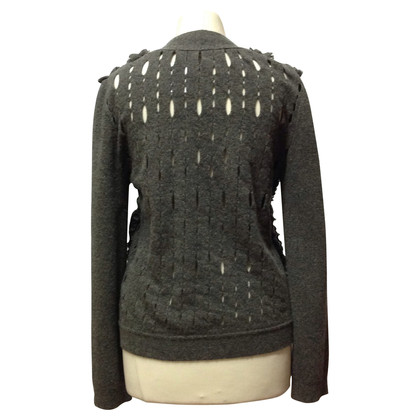 Louis Vuitton Cardigan met ruffle