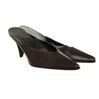 Jil Sander Mules in dark brown