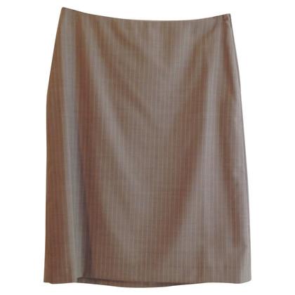 Hugo Boss skirt with pin-stripe