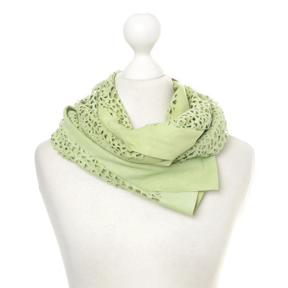 B Private Leer doek Green