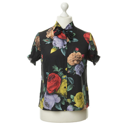Moschino Blouse with puffed sleeves and button