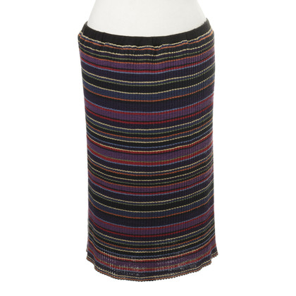 Missoni Knit skirt with stripes
