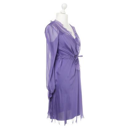 Alberta Ferretti Twee-delige jurk in paars